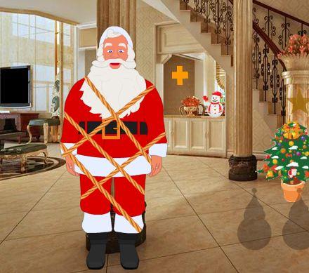 Games2Rule Christmas House Santa Rescue