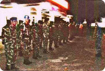 TNI dan Polri di Merauke Patroli Bersama