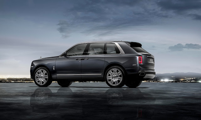 Rolls-Royce Cullinan the Luxurious SUV