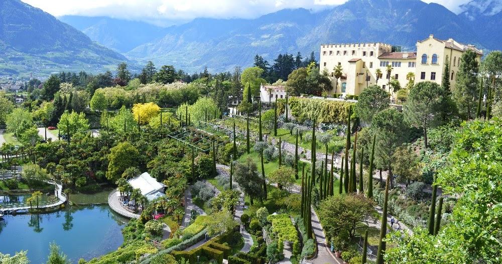 Una visita ai giardini di castel trauttmansdorff a merano - Giardini di montagna ...