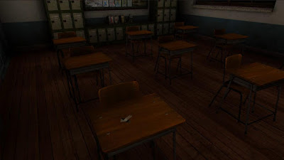 Tampilan Game The School White Day