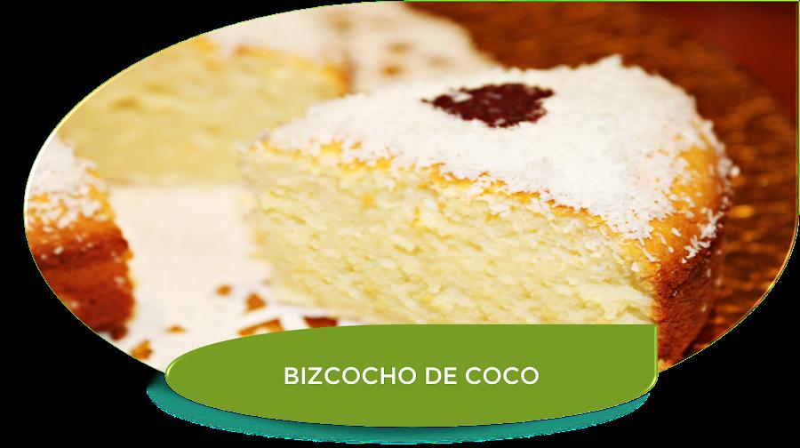 BIZCOCHO DE COCO