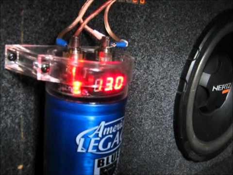 farad capacitor wiring how to charge a car audio    capacitor    before installation  how to charge a car audio    capacitor    before installation