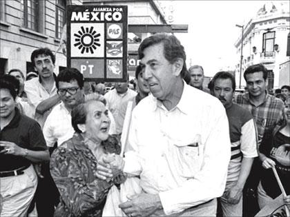 Resultado de imagen para fraude electoral 1988 cuauhtemoc