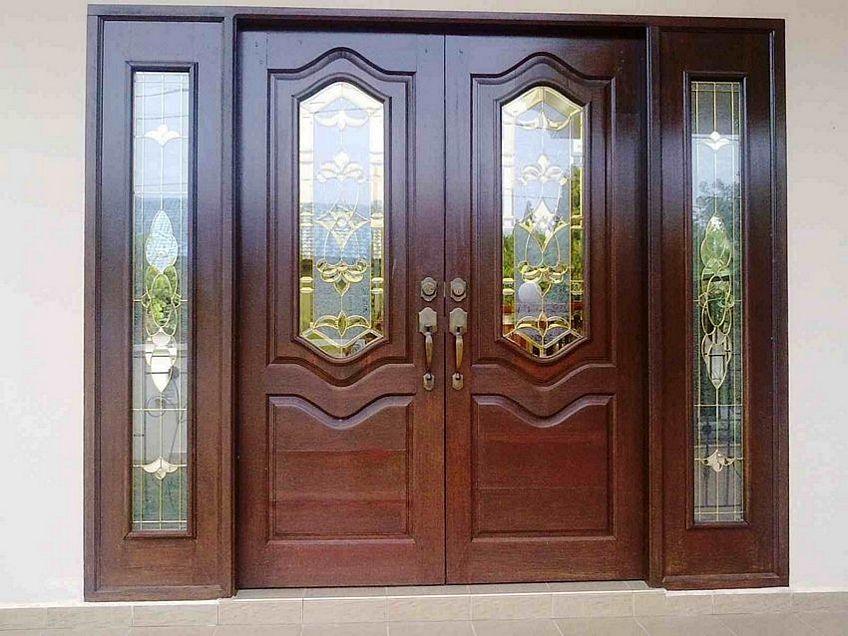 pintu double kayu 4