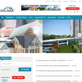 template blogspot bất động sản nhà đất