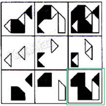 Pembahasan soal figural melengkapi pola rumpang