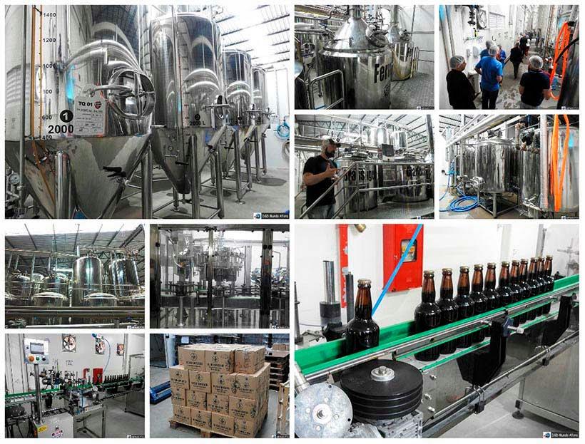 Cervejaria Lohn Bier: visita à fábrica em Lauro Müller