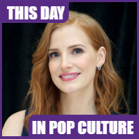 Jessica Chastain was born on March 24, 1977.