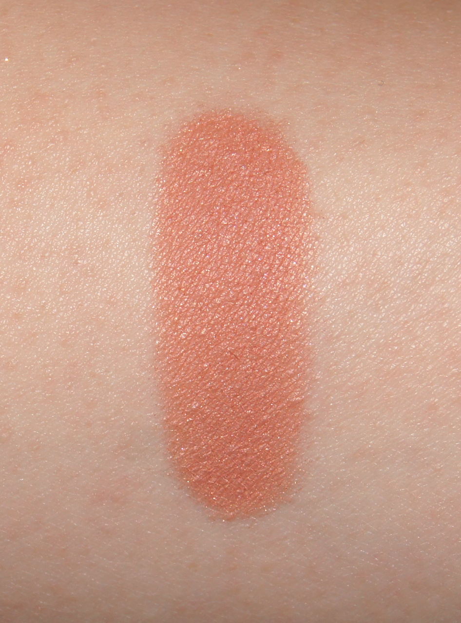 mac mineralize blush warm soul swatch