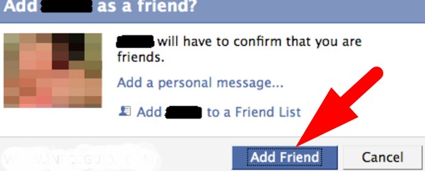why can't we send friend request on facebook