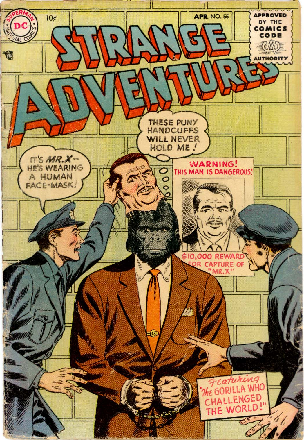 Strange Adventures (1950) issue 55 - Page 1