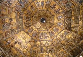 Cúpula del Baptisterio o Battisterio di San Giovanni.