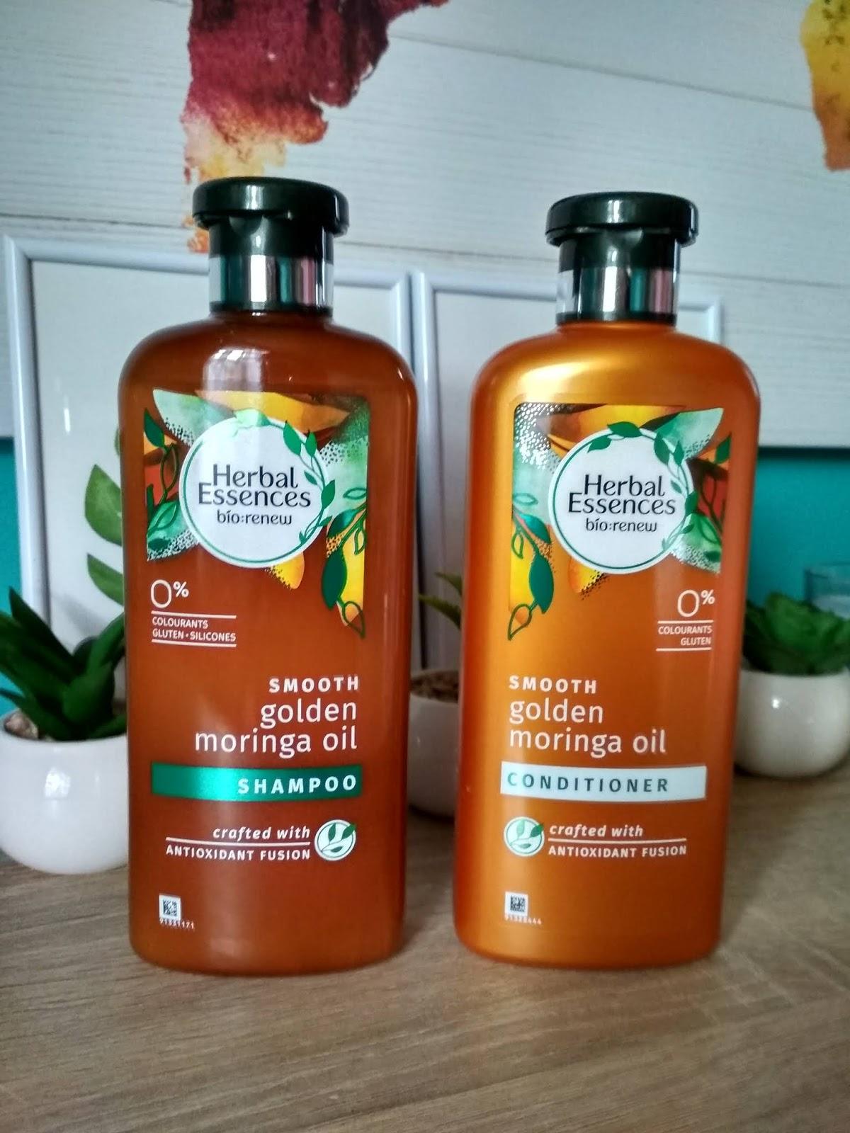 Recenzja - Herbal Essences Bio:renew Moringa Oil szampon i odżywka