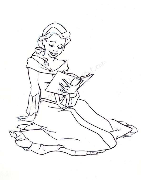 Princess Coloring Pages A Coloring Page