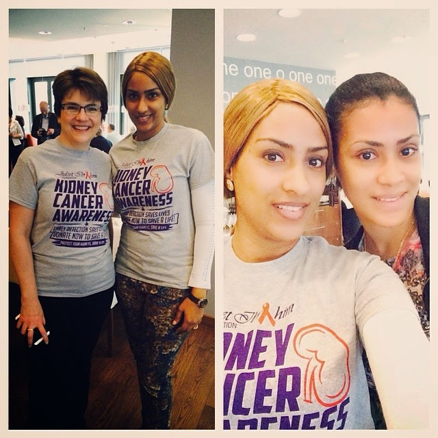 Image result for juliet and sonia ibrahim at international kidney conference