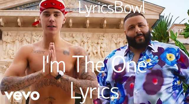 I am The One Lyrics - DJ Khaled | LyricsBowl