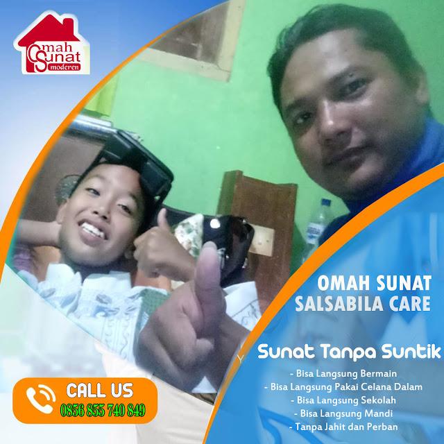 Tempat Sunat Bayi Salsabila | Sunat Laser | Sunat Modern Kecamatan Ngantang Kab Malang