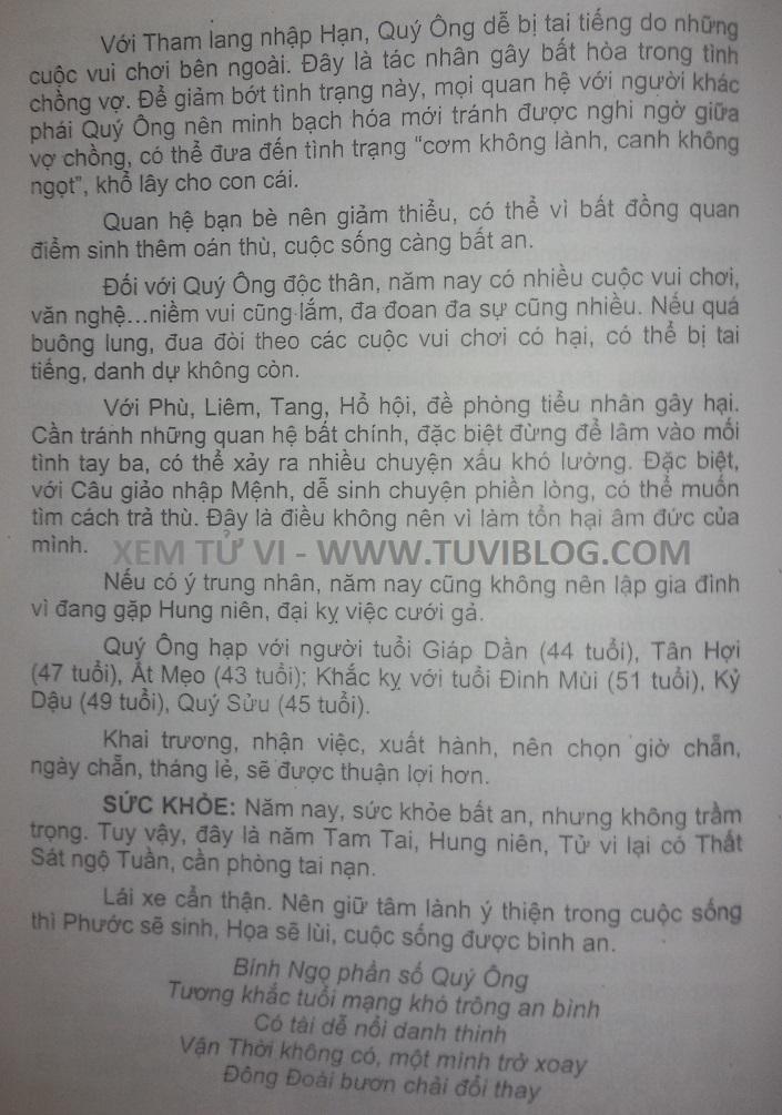 BINH NGO 1966 NAM 2017