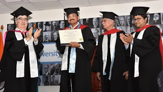 University for Peace Confers Honorary Doctorate on Vice President Venkaiah Naidu