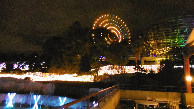 ひらパー 光の遊園地 イルミネーション