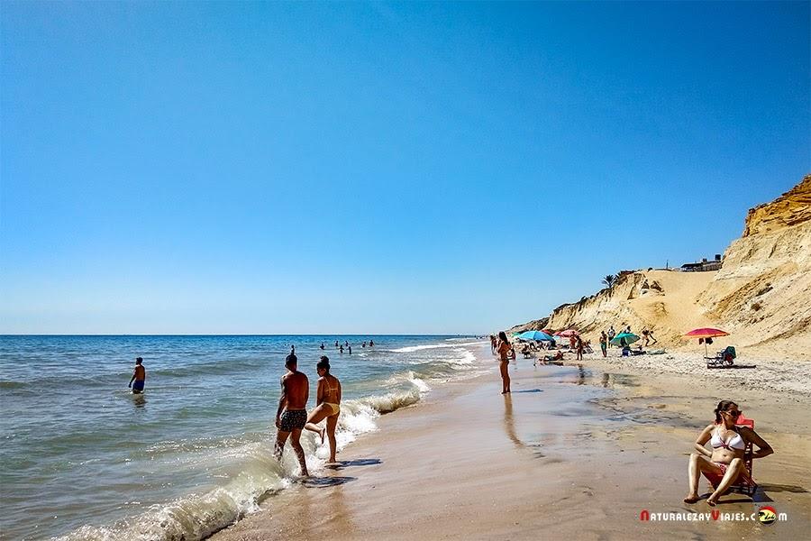 Playa Rancho Pichelín, Huelva
