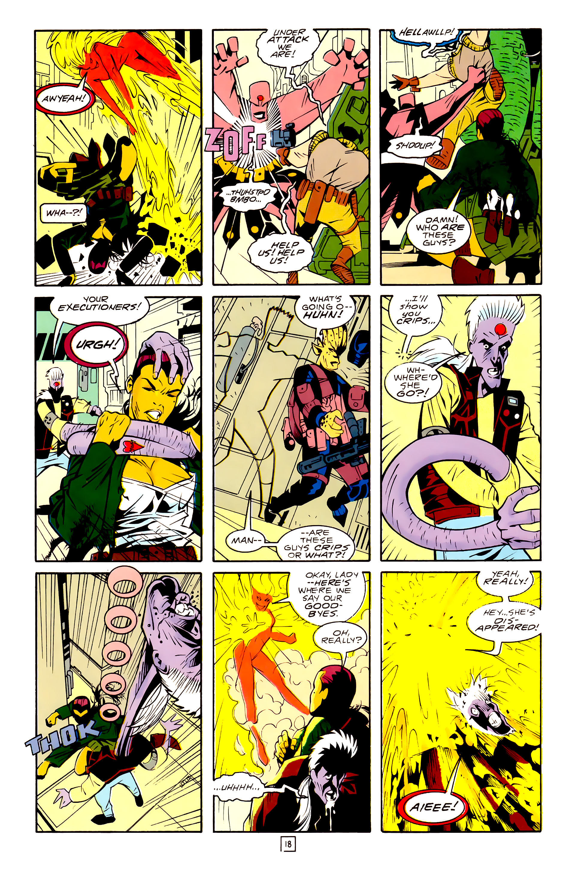 Legion of Super-Heroes (1989) 30 Page 18