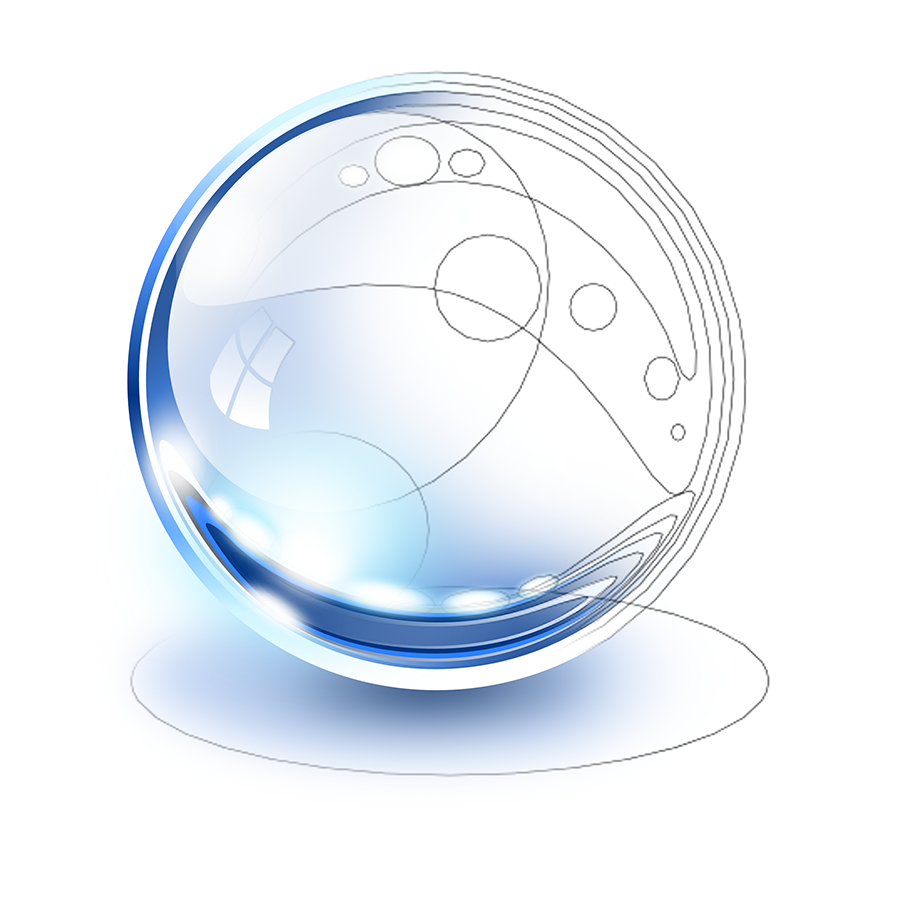 Glass Sphere Inkscape