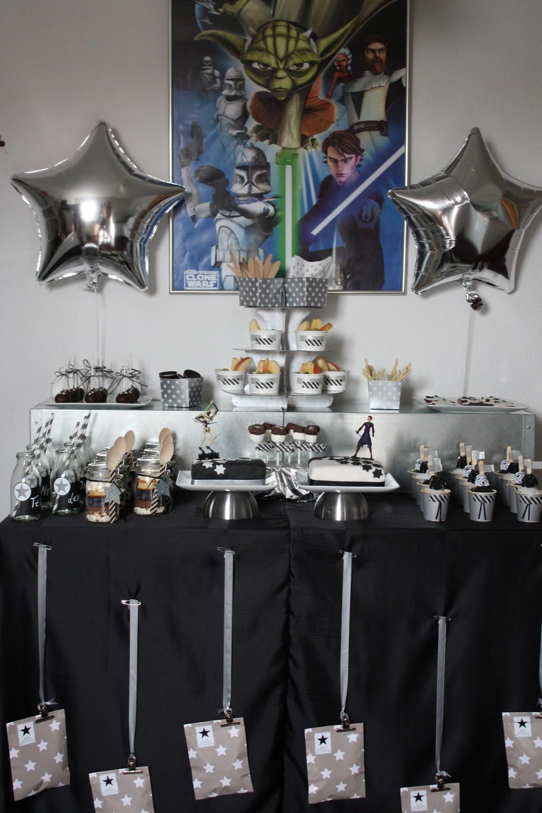 das kleine weisse haus star wars birthday party. Black Bedroom Furniture Sets. Home Design Ideas
