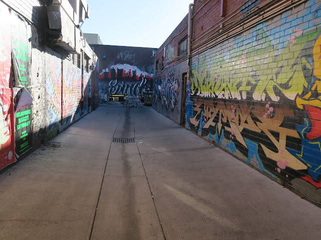 alley, St Kilda's beach, Melbourne