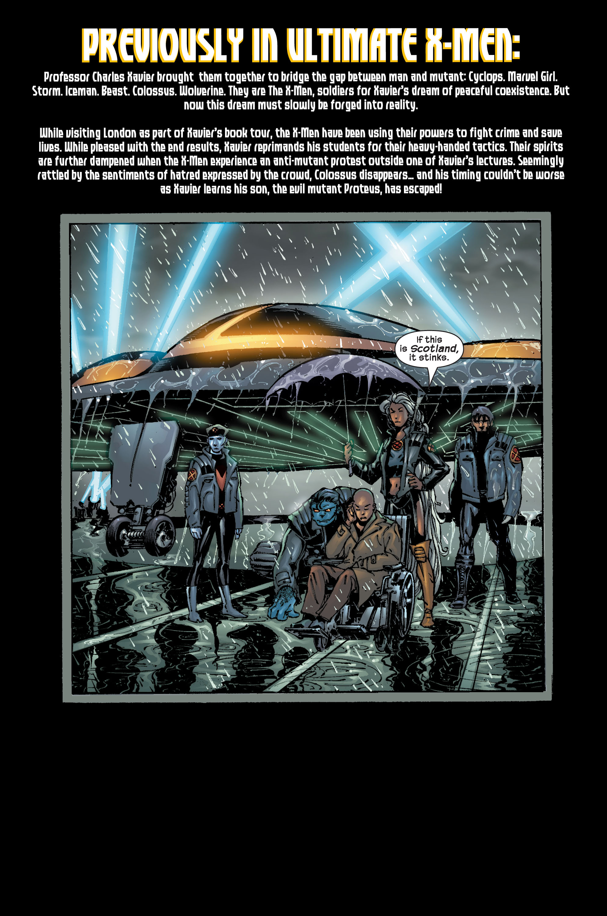 Read online Ultimate X-Men comic -  Issue #17 - 3