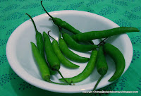 Pachai Milagai [ green Chilly ]