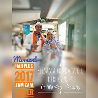 HAJI PLUS 2017 Bersama Bunda GURIL