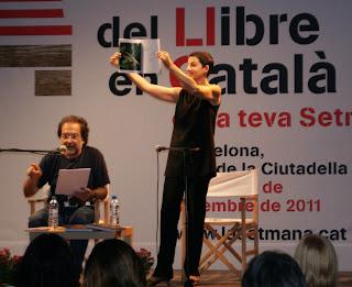 Celdoni Fonoll i Lloll Bertran a la 29a Setmana del Llibre en Català (2011) per Teresa Grau Ros