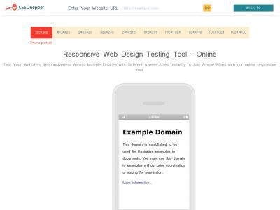 Website-responsive-test