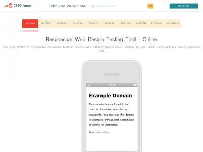 Website-responsive-test