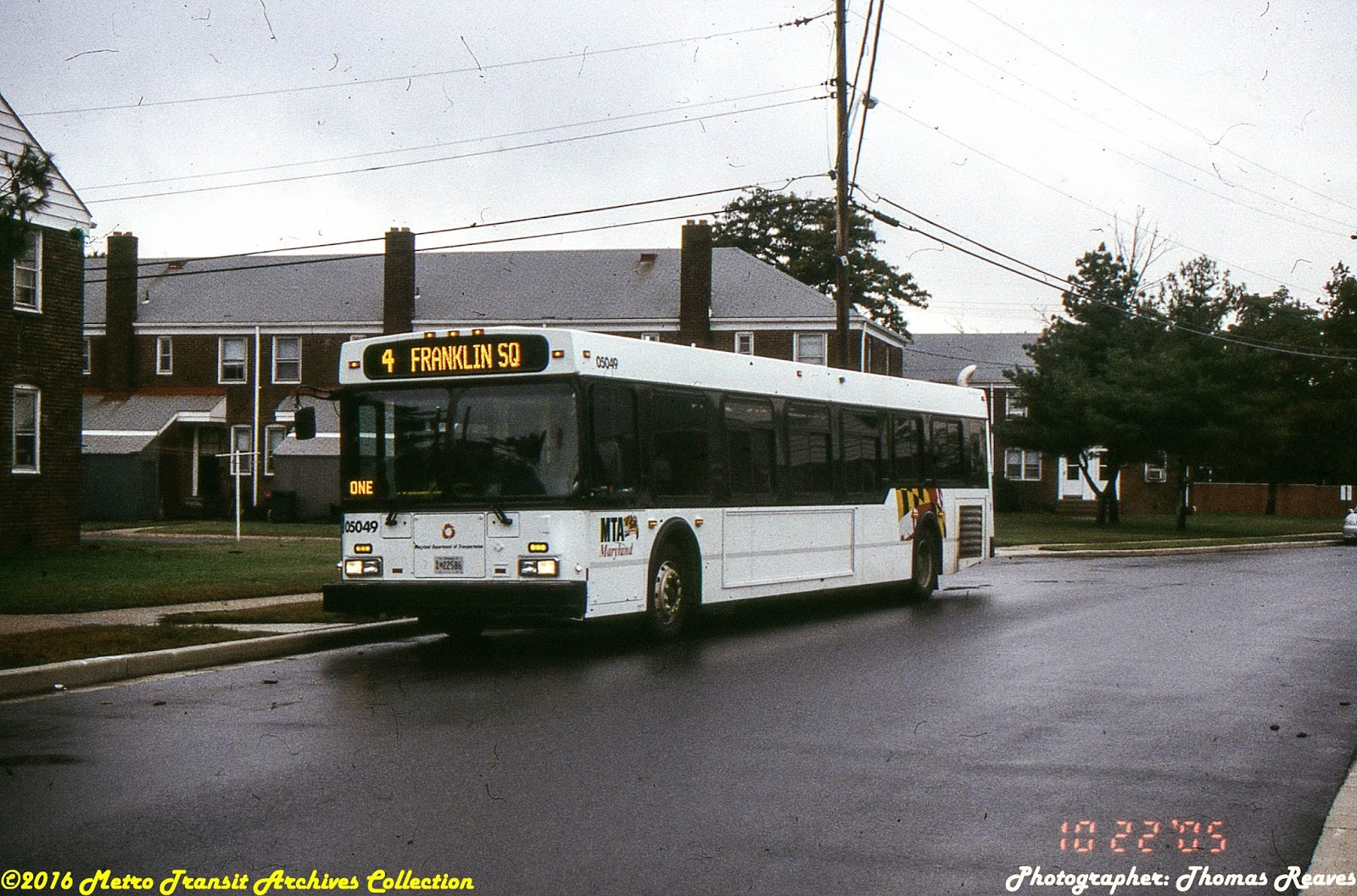 Metro Transit Archives Before Baltimorelink There Was Gbbi