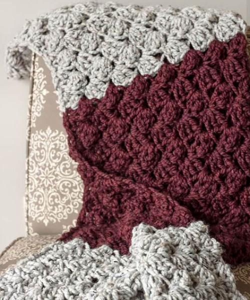 Charlotte Crochet Blanket - Free Pattern