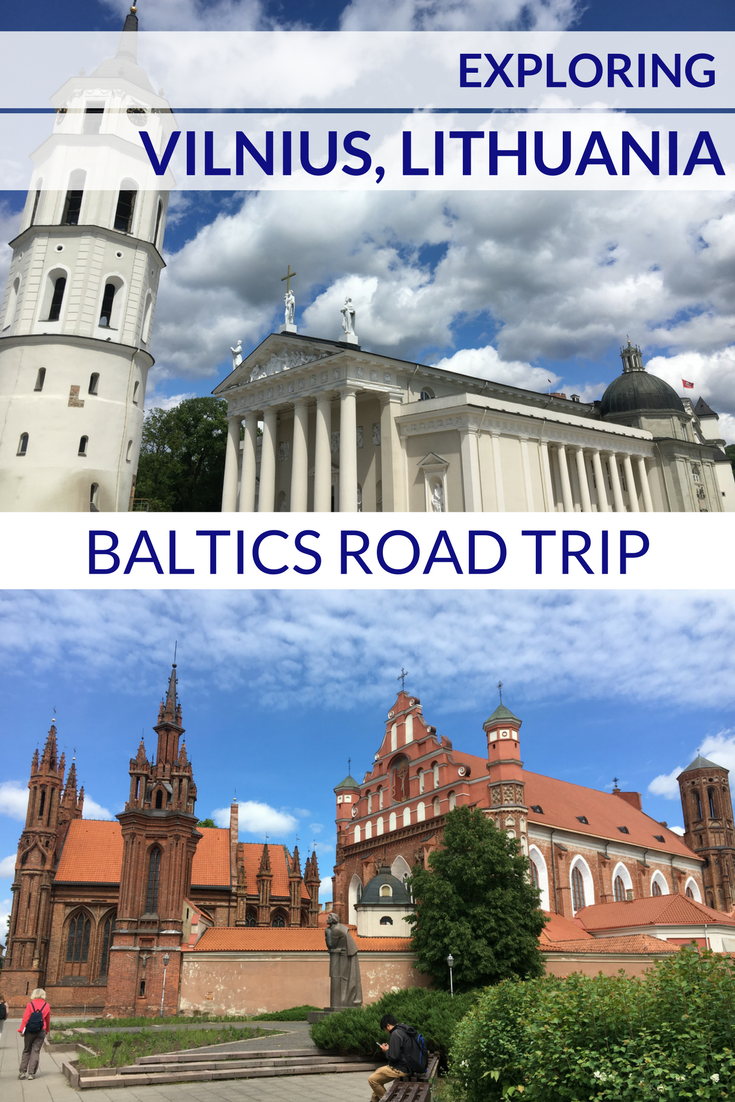 Exploring Vilnius, Lithuania