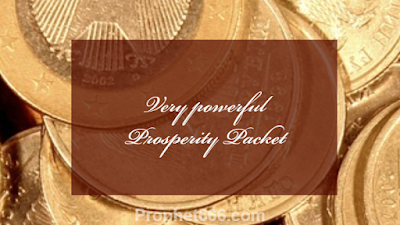Extremely rare and very powerful Prosperity Packet
