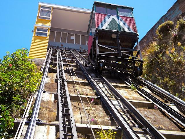 Visitar os Ascensores Artilleria e Reina Victoria em Valparaíso