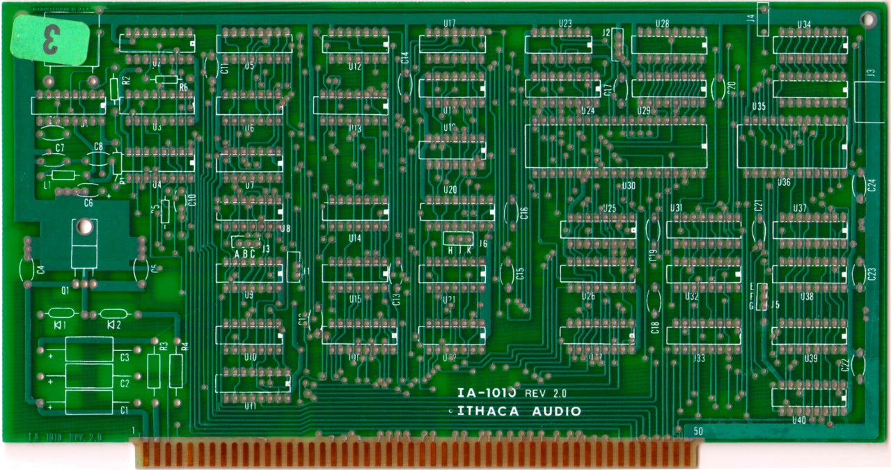 The Mercatopo: A computer kit from the '70s: Ithaca Audio