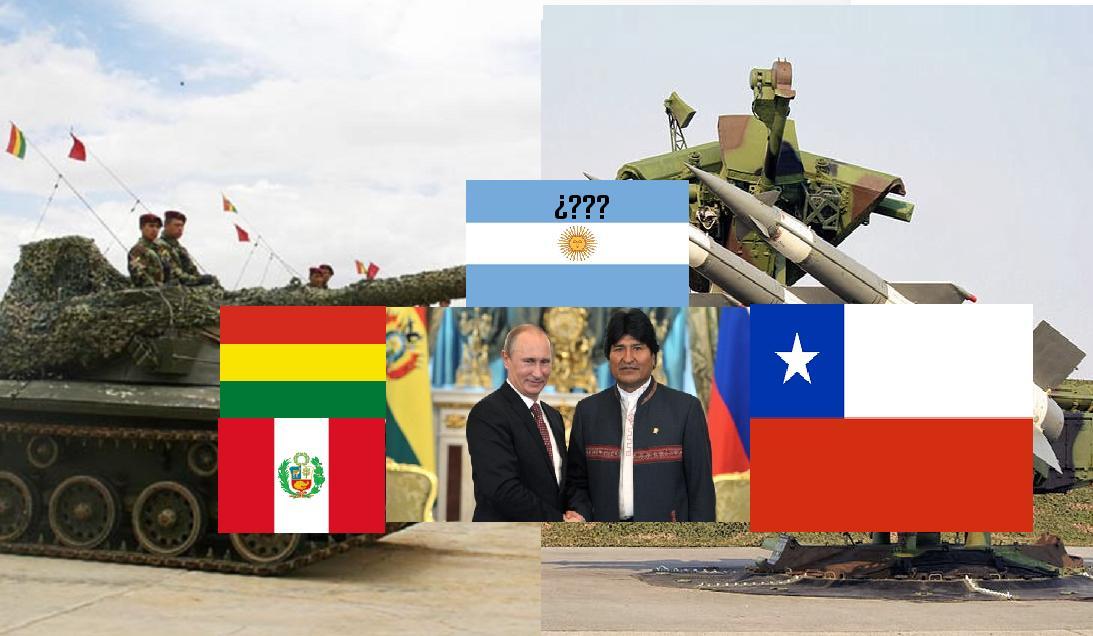 Bolivia Se Prepara Para La Guerra Contra Chile