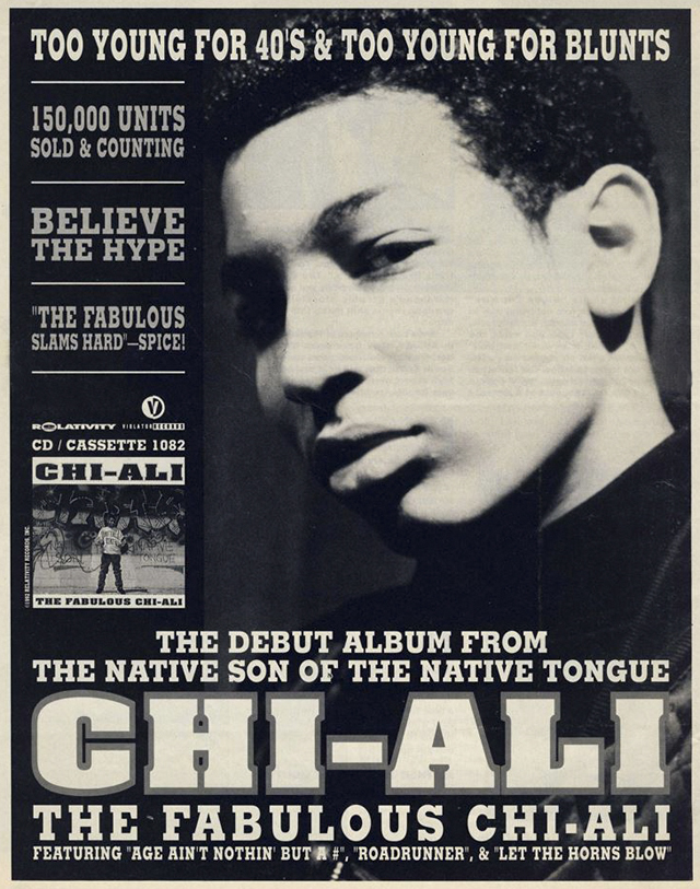 Chi-Ali The fabulous chi-ali native tongues advert 1992 hip hop nostalgia