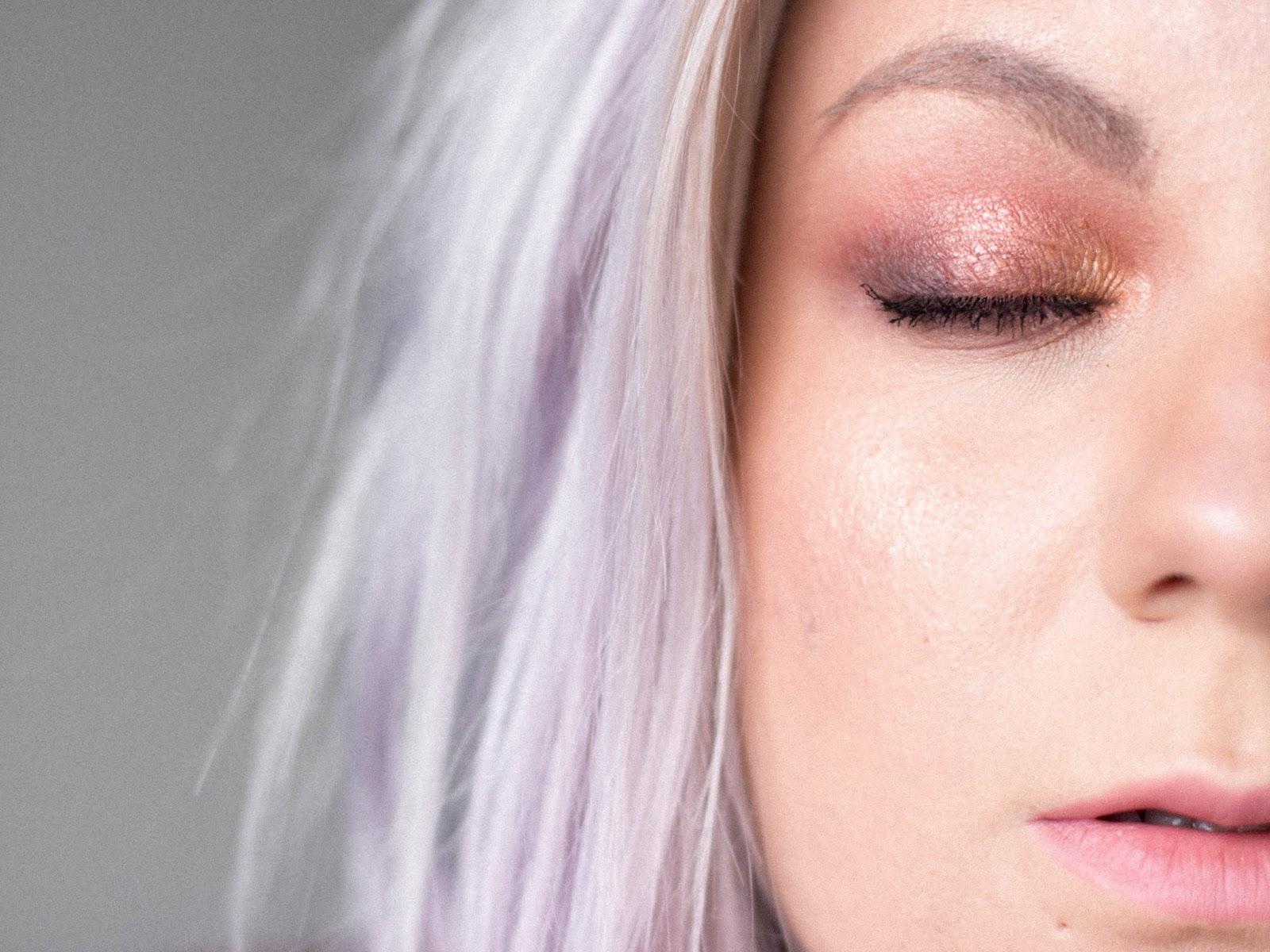 líčení s paletkkou Dior Backstage Amber Neutrals