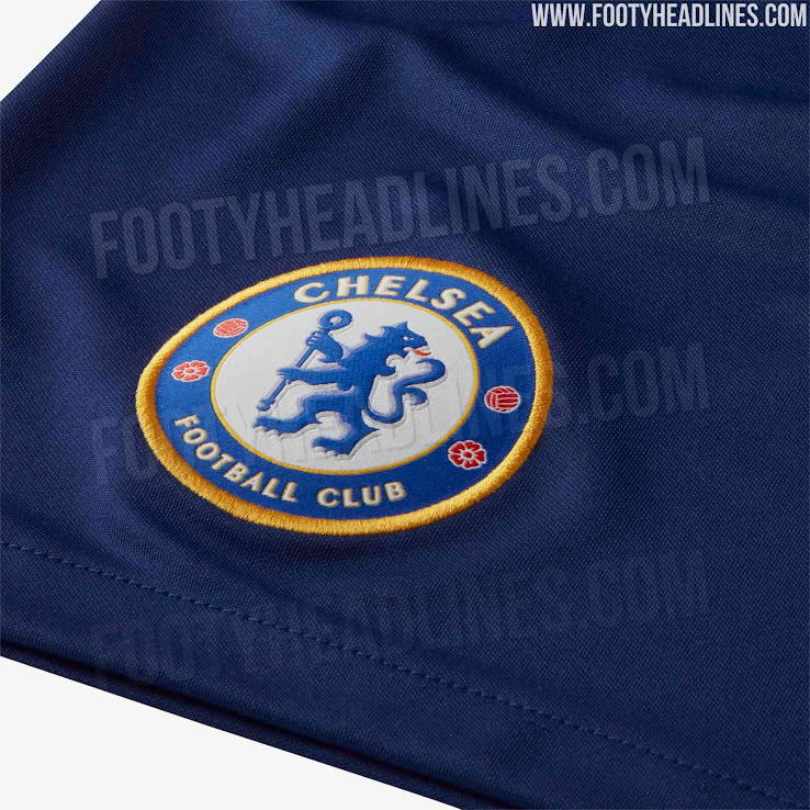a295e33ff UPDATE  Chelsea 19-20 Home Kit Shorts Leaked - Footy Headlines