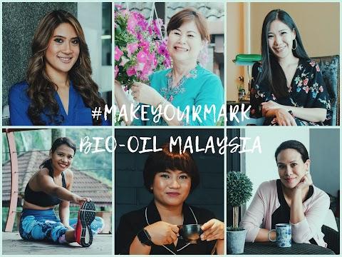BIO-OIL MALAYSIA PERKASA WANITA MENERUSI KEMPEN #MAKEYOURMARK