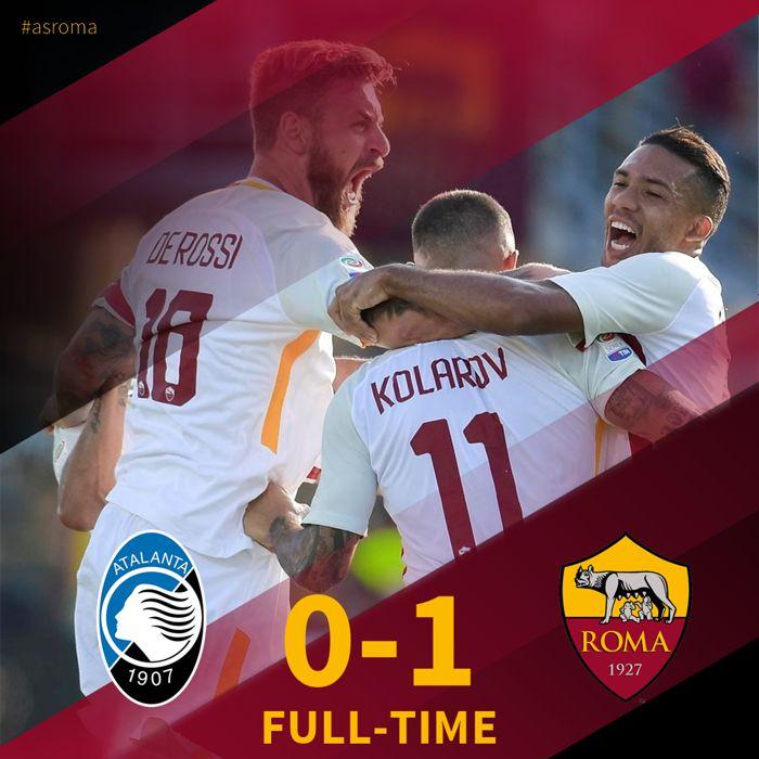 ATALANTA-ROMA decisa da una genialata di Kolarov su punizione | Calcio Serie A