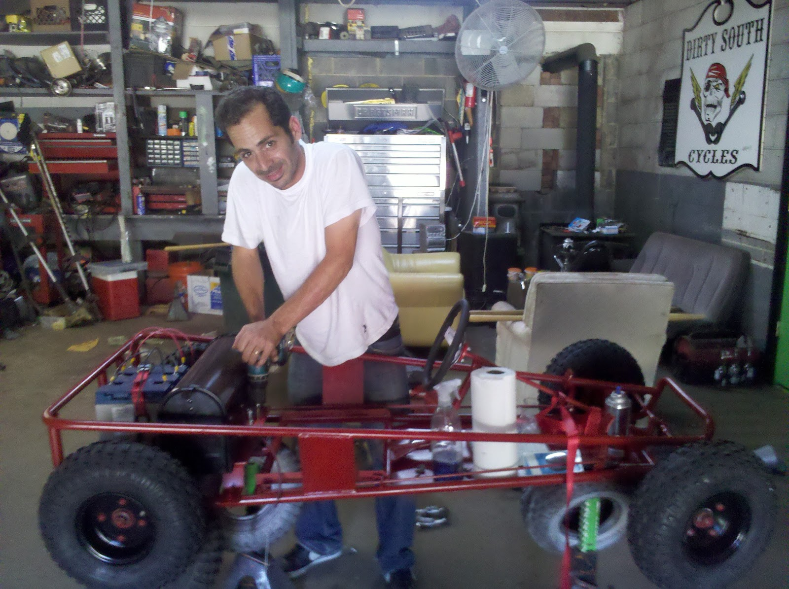 Electric Go Kart: Parts and Build Out, Discussion of Motor