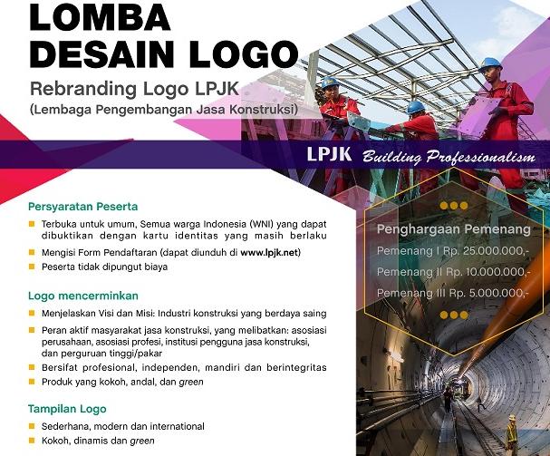 Lomba Desain Logo LPJK 2018